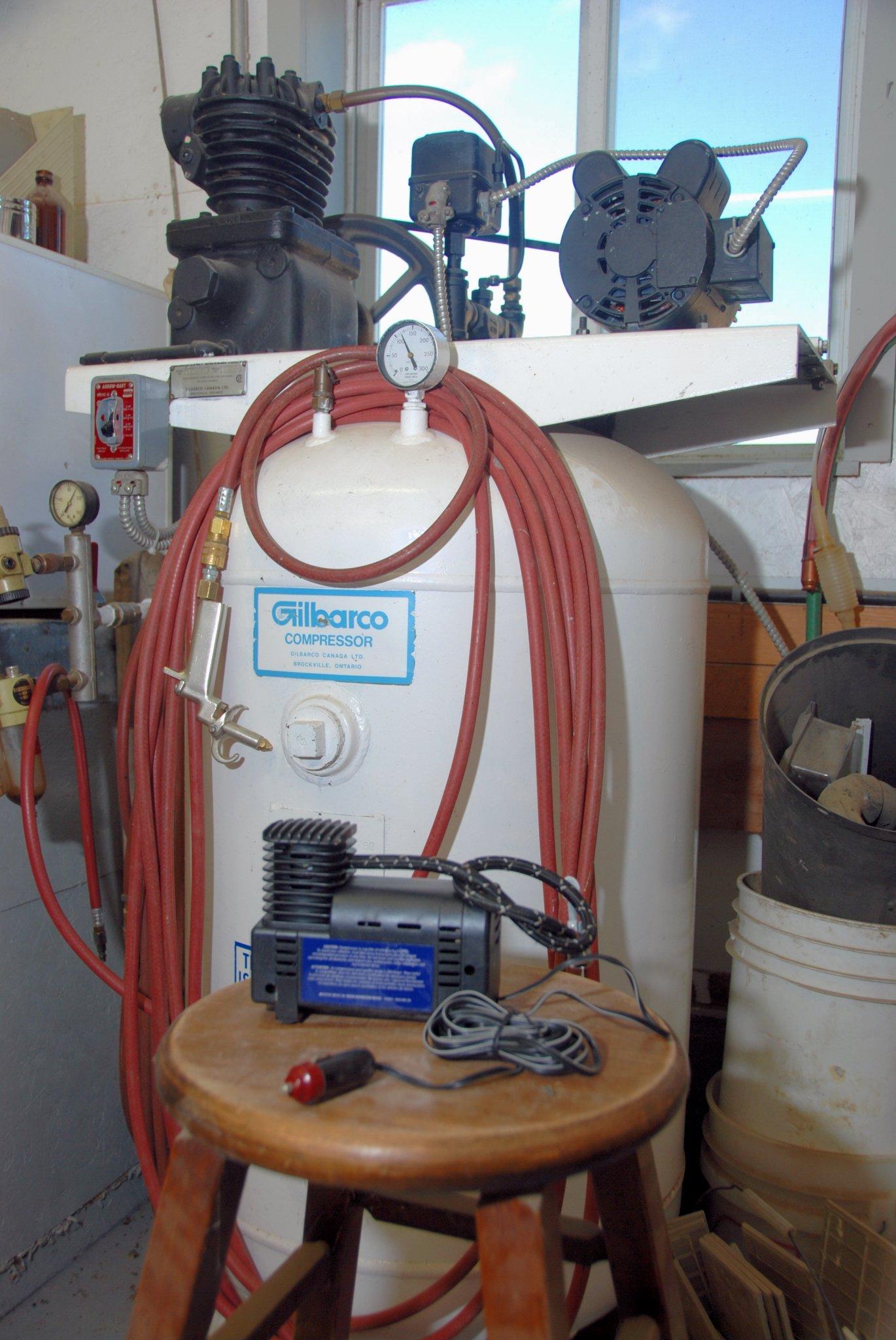 Choosing An Air Compressor Small Farm