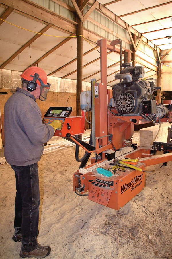 Small-scale sawmilling on the farm: Is it right for your