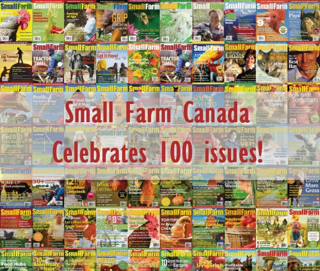 Small Farm Canada 100 issues