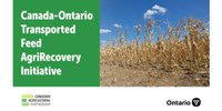 The Canada-Ontario Transported Feed AgriRecovery Initiative